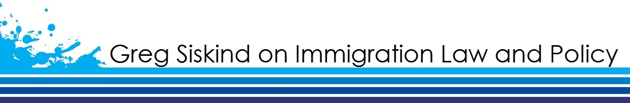 Greg Siskind on Immigration Law and Policy